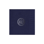"Personalized Monogram Luncheon Napkins Navy Blue - 6-3/4"" x 6-3/4""- 50 or 100/pack"