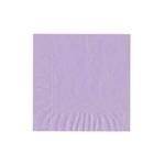 "Lavender Luncheon Napkins - 6-3/4"" x 6-3/4"" Unprinted 50 or 100/pack"