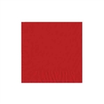 "Red Luncheon Napkins - 6-3/4"" x 6-3/4"" Unprinted 50 or 100/pack"