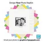 Photo printed Luncheon napkins