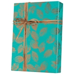 Shamrock Copper Leaves Pattern M-4253