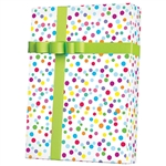 Shamrock Ditty Dots Gift Wrap M4264