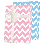 Shamrock Reversible Baby Chevron Pattern M-5476