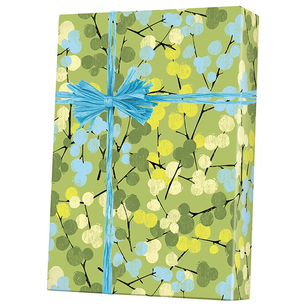 Gift Wrap Berry Branches M-6314
