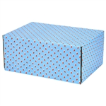 Medium Lil Stockings Patterned Shipping Boxes - 48 Pack