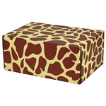 Medium Giraffe Patterned Shipping Boxes - 6 Pack