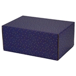 Medium Night Sky Patterned Shipping Boxes - 6 Pack