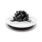 Black Flora-Satin Perfect Bows on Reels - 3 Sizes
