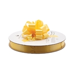 Daffodil Flora-Satin Perfect Bows on Reels - 2 Sizes