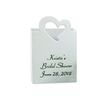Heart Tote Mini Favor Boxes - Custom Printed
