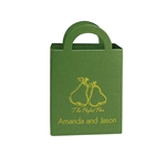 Tote Mini Favor Boxes - Custom Printed