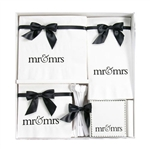 Mr. & Mrs. Wedding Napkin  Gift Sets