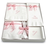 Personalized Napkin Hostess Gift Sets