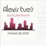 Big City Mitzvah Design Luncheon Napkins