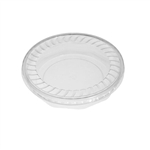 "18 oz. Plastic Food Containers - 7"" Faceted - One Cell Tray with Covers - 40 per pack"