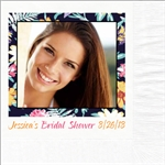 Bridal Shower Photo Beverage Napkins