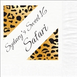 Safari Sweet 16  Photo Beverage Napkins