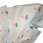 18th Hole Golf Patterned Tissue Paper