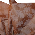 Oak Leaves Brown Printed Tissue Paper