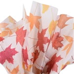 Autumn Leaves Printed Tissue Paper