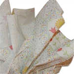 Flower Trio Patterned Tissue Paper