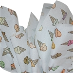 Ice Cream Cones Patterned Tissue Paper