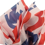 Stars & Stripes Patterned Tissue Paper
