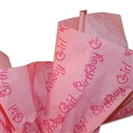 Birthday Girl Patterned Tissue Paper