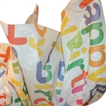 Big Happy Birthday Patterned Tissue Paper