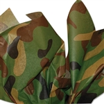 Camo Patterned Tissue Paper