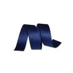 Navy Crimped Cotton Curling Ribbon