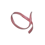 Skinny Red/White Stripes Cotton Curling Ribbon