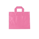 Small Hot Pink Frosted Soft Loop Ameritote Bags