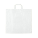 Medium Clear Frosted Soft Loop Ameritote Bags