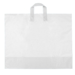 Large Clear Frosted Soft Loop Ameritote Bags