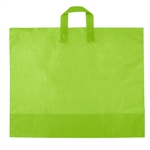 Large Citrus Green Frosted Soft Loop Ameritote Bags