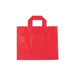 Small Red Frosted Soft Loop Ameritote Bags