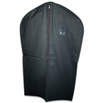 Black Vinyl Zipper Garment Bags