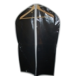 Clear Vinyl Zipper Garment Bags