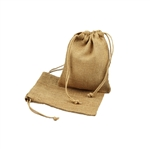 "5"" x 7"" Natural Jute Pouches"