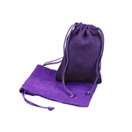 "5"" x 7"" Purple Jute Pouches"