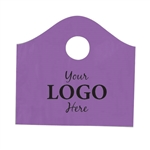 Custom Printed Plastic Bags - Super Wave Purple