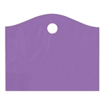 Super Wave Plastic Bags Large - Purple Grape