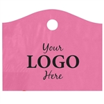 Custom Printed Plastic Bags - Super Wave Sizzling Pink