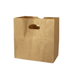 Grocery and Take Out Bags with Die Cut Handles