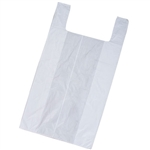 Large White Plastic T-Shirt Bags