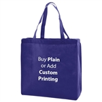 "Royal Non-Woven 13"" x 5"" x 13"" Tote Bags - 18"" Handle"
