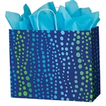 Recycled Bubbles Paper Shopping Bags