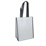 "Non-Woven San Francisco Bags - 9"" x 12"" x 5"" - White 100 Bags/Case"