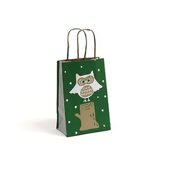 Small Woodland Critters Shopping Bags